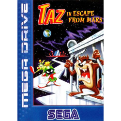 Escape From Mars Starring Taz