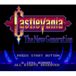 Castlevania - Bloodlines | Castlevania - The New Generation