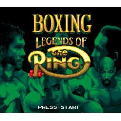 Boxing Legends of the Ring