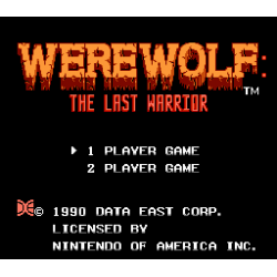 Werewolf - The Last Warrior