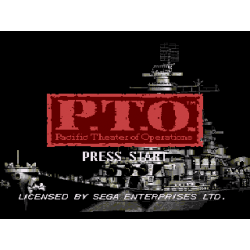 P.T.O. Pacific Theater of Operations