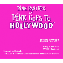 Pink Panther in Pink Goes to Hollywood