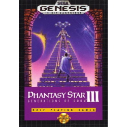 Phantasy Star III - Generations of Doom | Phantasy Star III - Toki no Keishousha